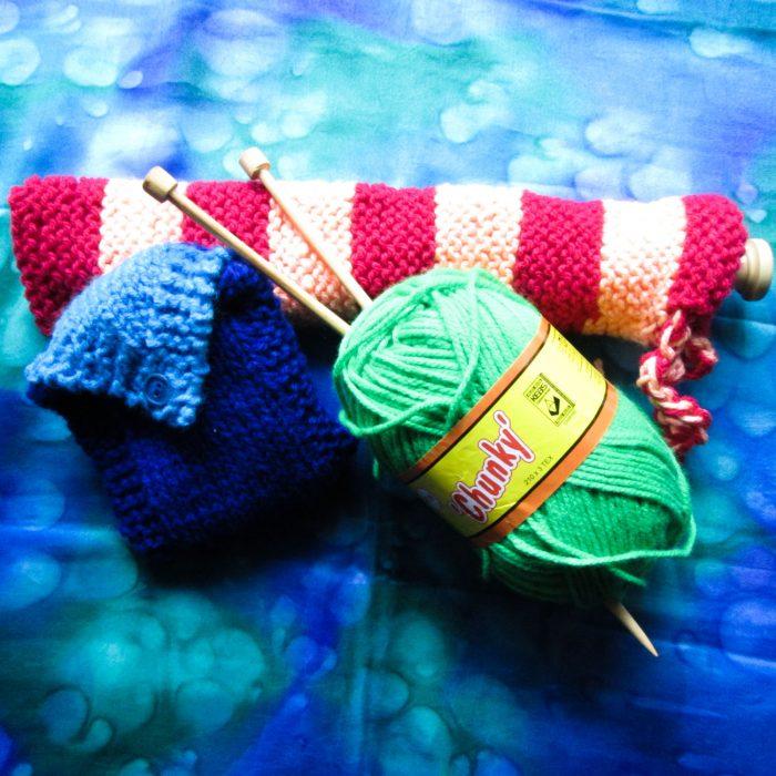 Handwork-knit